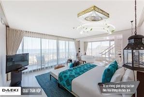 Lựa chọn quạt trần chung cư phù hợp cho trần nhà thấp?
