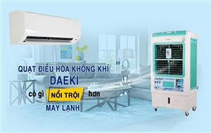 Tại sao nên mua quạt điều hòa không khí cho bé thay cho máy lạnh?