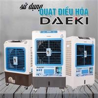 Công suất điện năng tiêu thụ của quạt điều hòa không khí Daeki